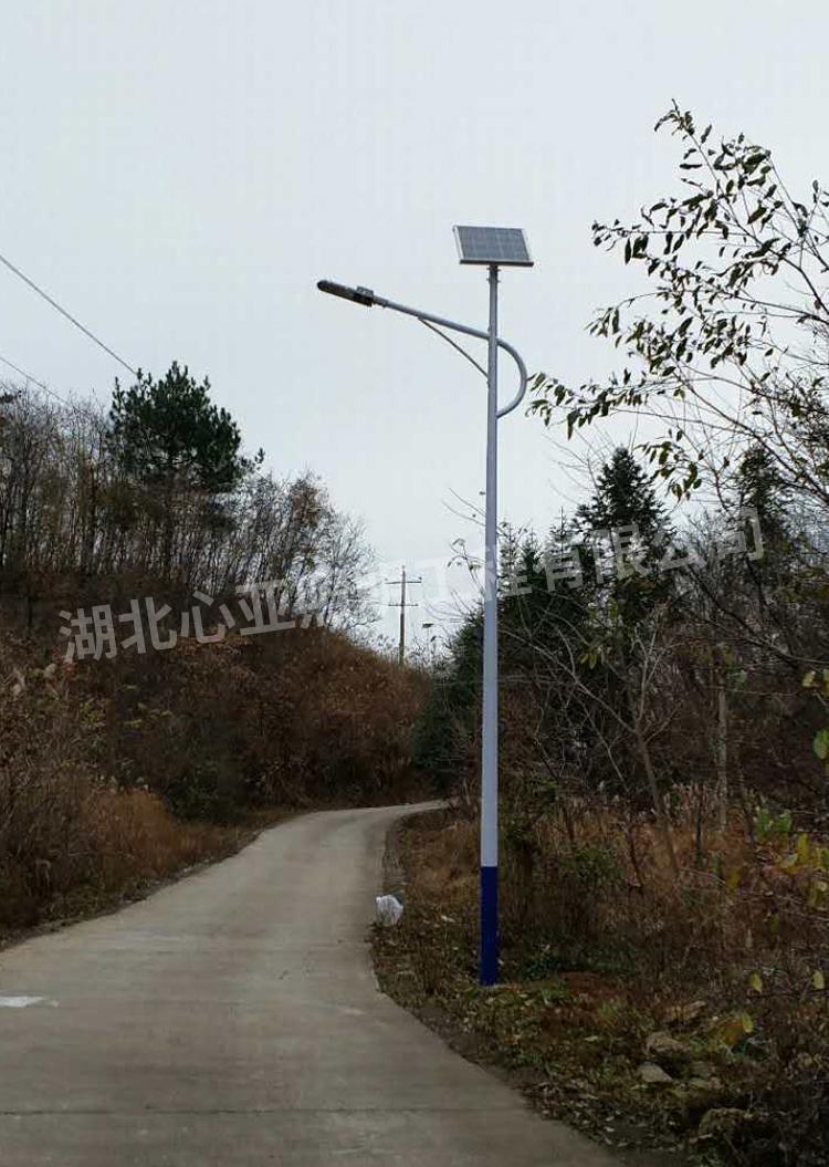 太阳能路灯安装完成效果3