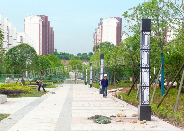 五峰民族工业园管委会景观灯照明项目