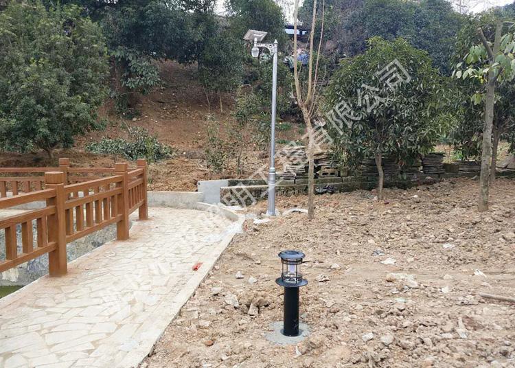 宜昌点军紫阳村太阳能苹果灯照明项目
