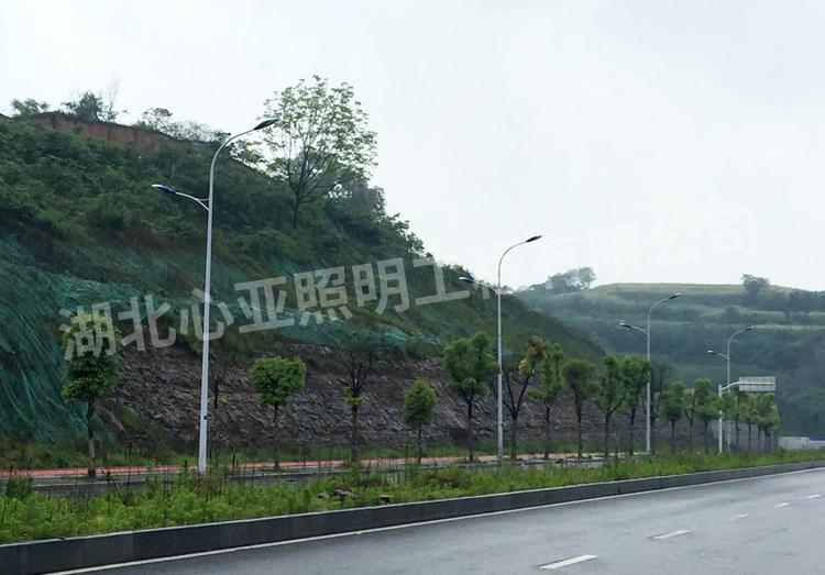 宜昌市开发区大连路市电路灯