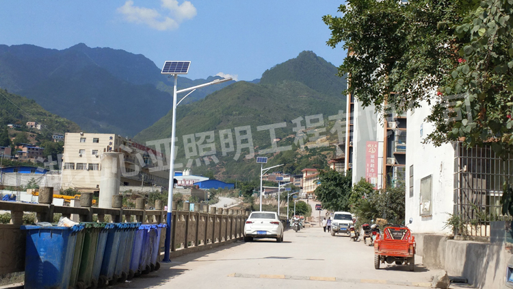 重庆奉节县薜家小院太阳能照明项目