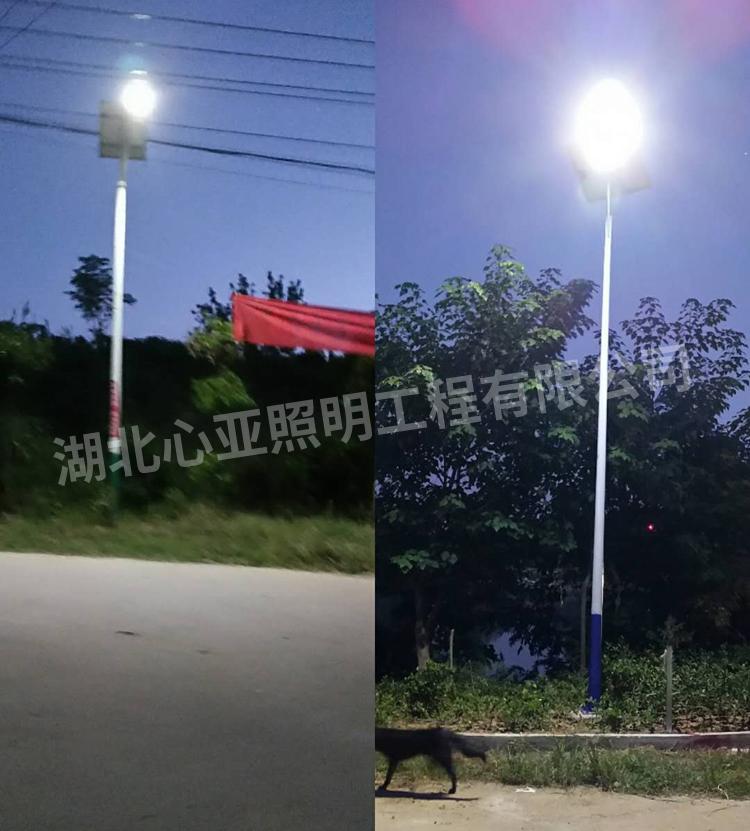 太阳能路灯安装过程