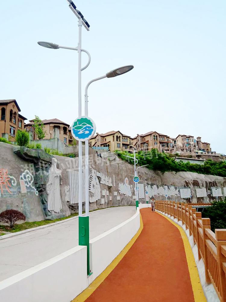 宜昌龙盘湖别墅区路灯照明项目