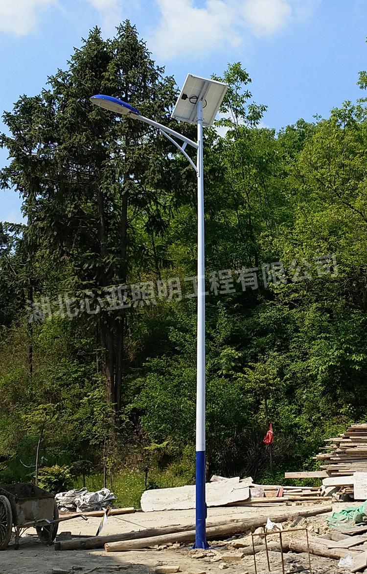 十堰房县界垭村太阳能路灯照明项目
