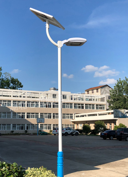随州高速交警大队太阳能庭院灯照明项目