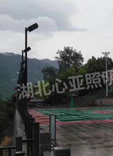 兴山县昭君镇千禧公园照明项目