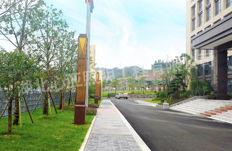 湖北昌耀新材料公司景观灯照明项目