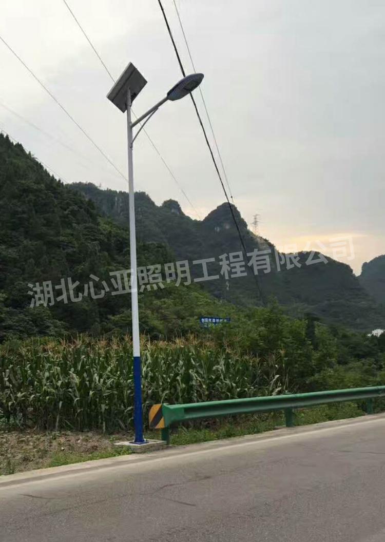 新坪村太阳能面包灯2