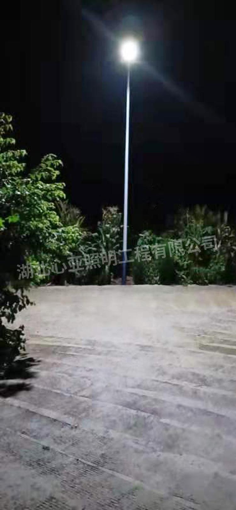 云阳县龙角镇栏坪村太阳能路灯照明项目