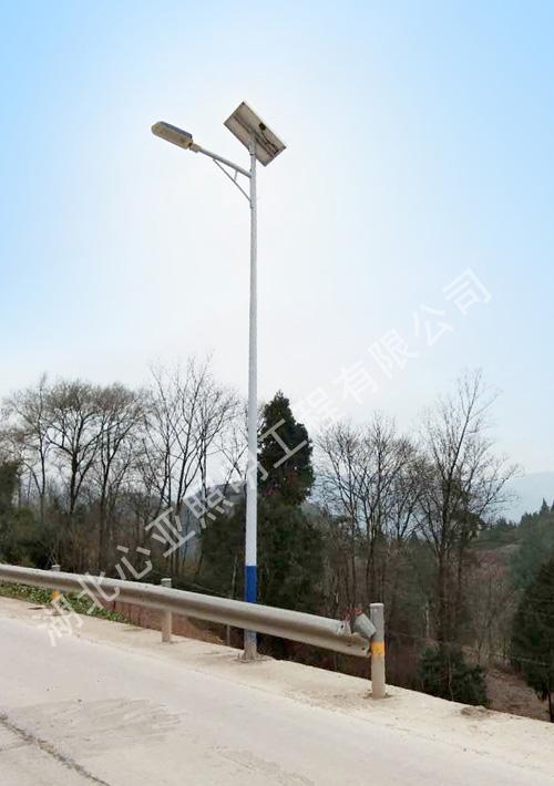 重庆市奉节新民镇祖师村路灯照明项目
