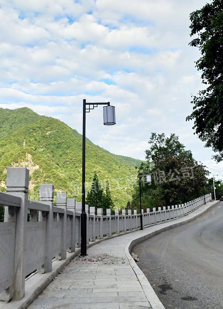 神农架香溪源养生佳苑庭院灯草坪灯照明项目