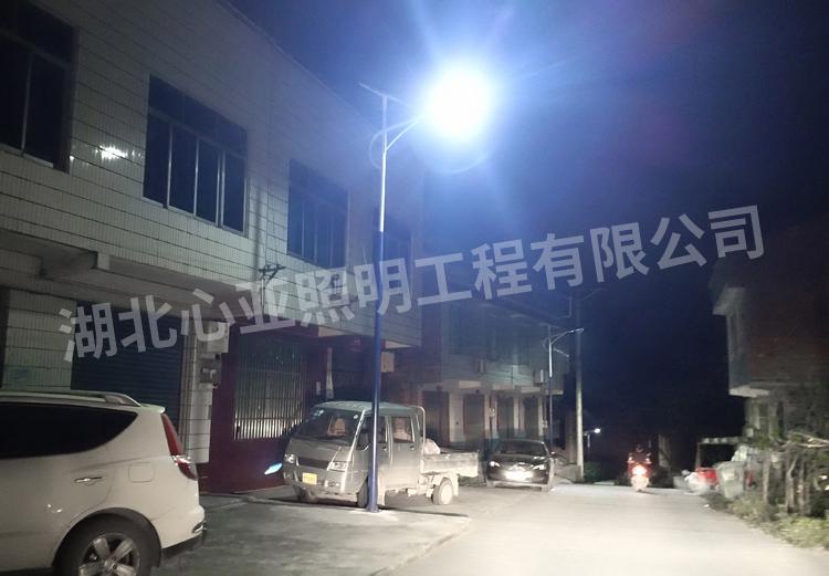 重庆开州区乐园村太阳能路照明项目