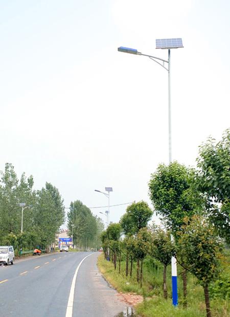 襄阳太阳能路灯照明项目