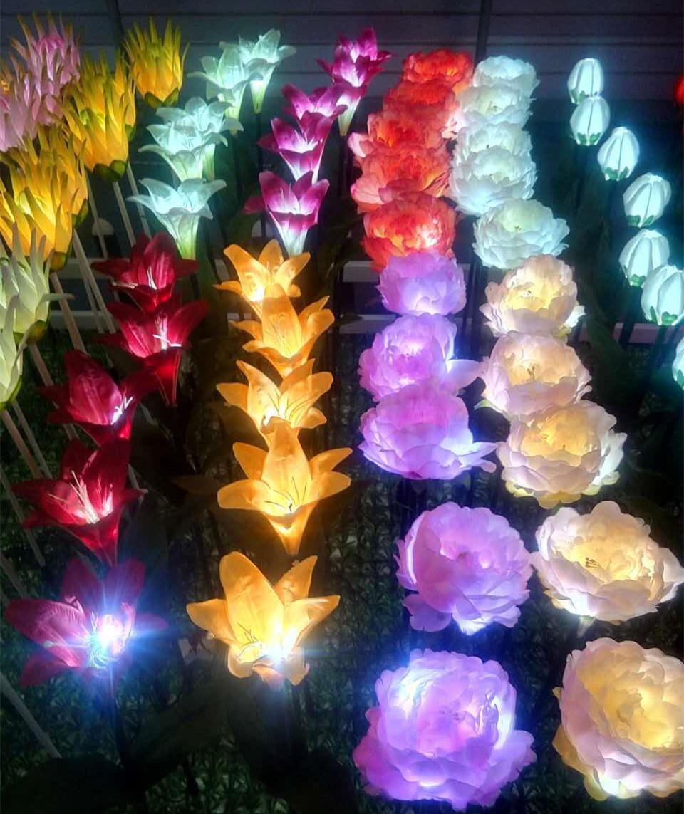 PVC玫瑰花