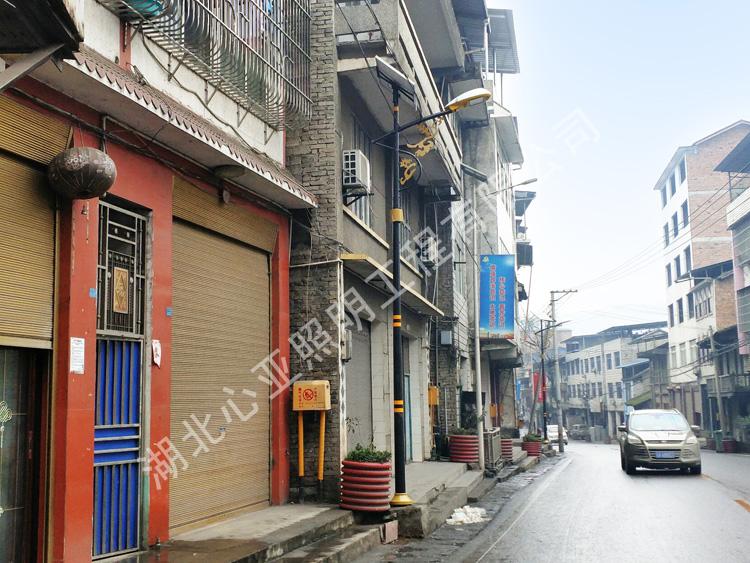 重庆开州区和谦镇太阳能路灯照明项目