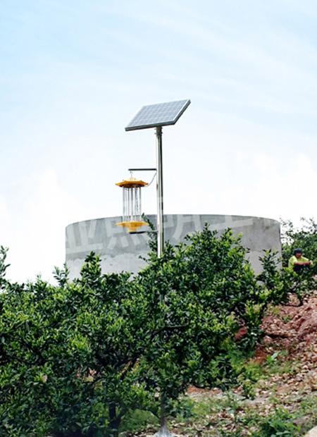宜昌土门太阳能杀虫灯照明项目