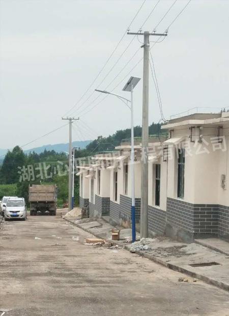 恩施鹤峰县老村安置房照明项目